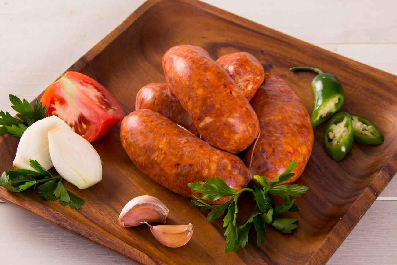 Chorizo de alta calidad choribi